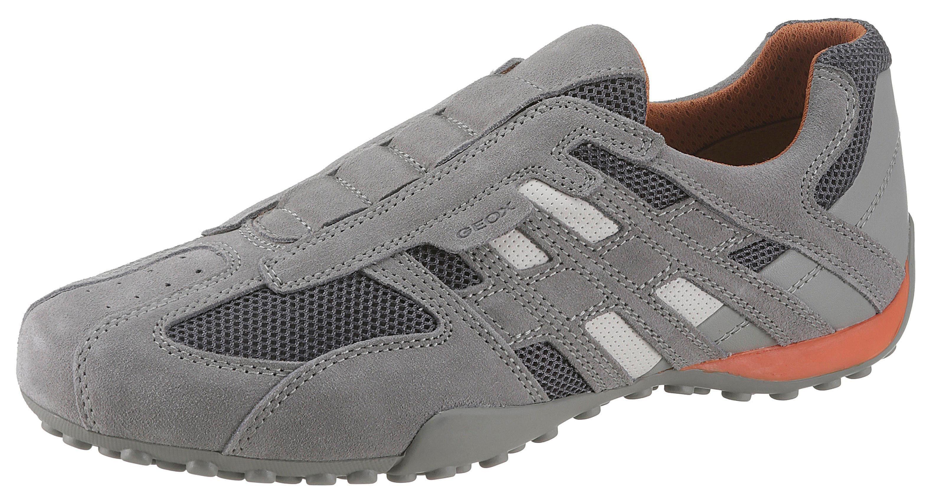 Geox »Pavel« Slip On Sneaker mit praktischem Schnellverschluss
