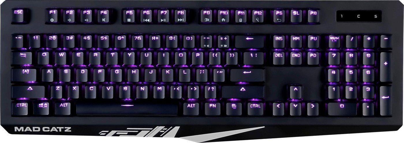 Mad Catz »S.T.R.I.K.E. 4« Gaming-Tastatur