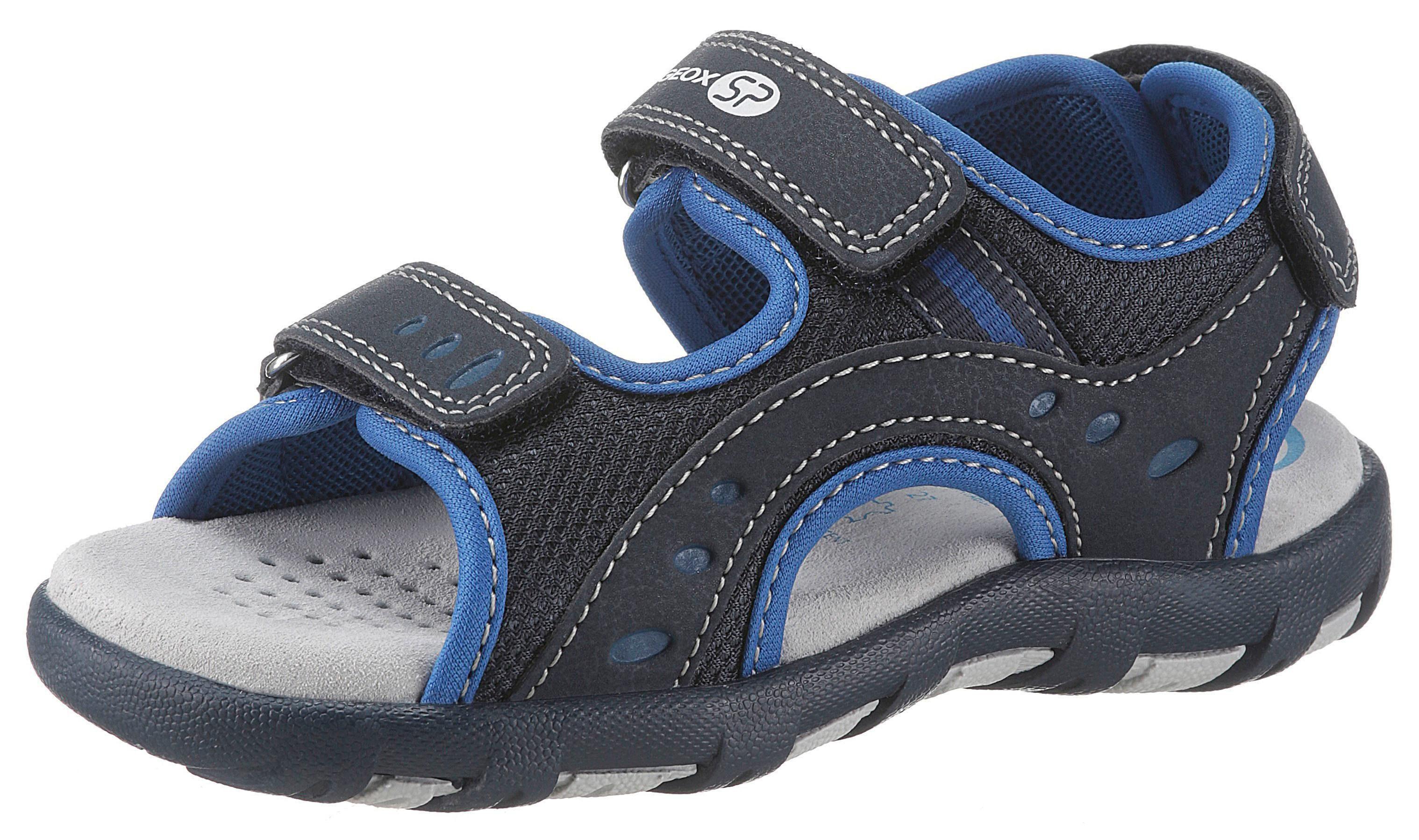 Geox Kids »Pianeta« Sandale mit bequemem Softfußbett aus Leder online kaufen | OTTO