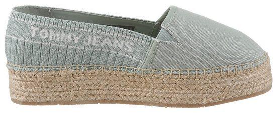 Jutebezogenem Id« Jeans Tommy Plateau »winnie Espadrille Mit 4gqXqw