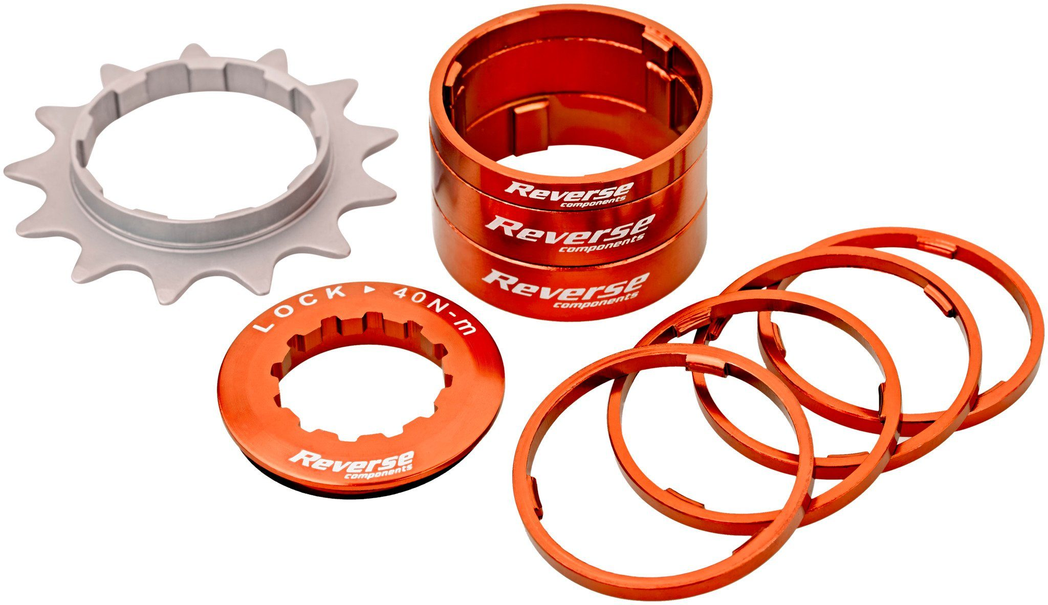 Reverse Fahrradkasetten »Single Speed Kit«