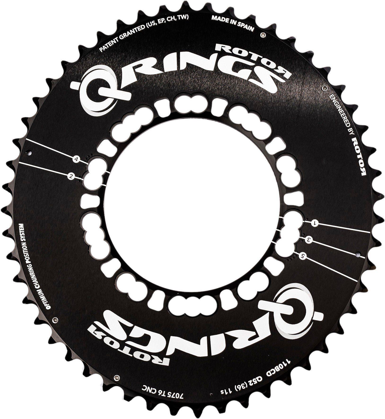 Rotor Kettenblatt »Q-Ring Road Aero Kettenblatt 110mm 5-Arm außen«