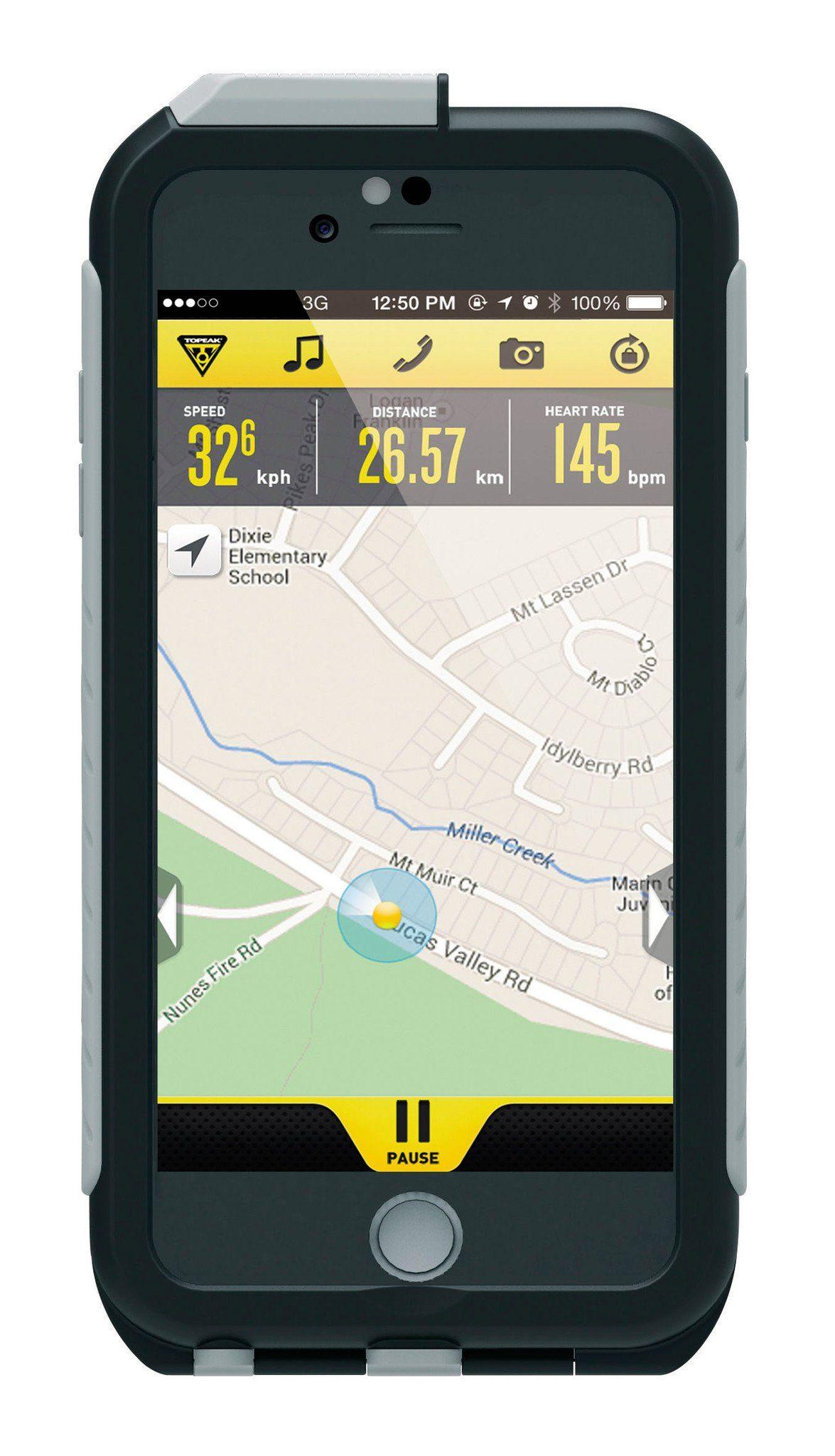 Topeak Fitnesstracker »Weatherproof RideCase für iPhone 6+ ohne Halter«