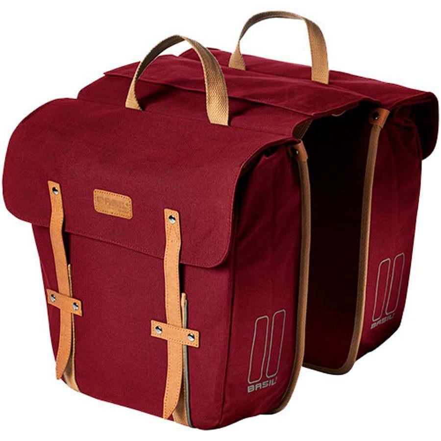Basil Gepäckträgertasche »Portland Slimfit Double Bag«