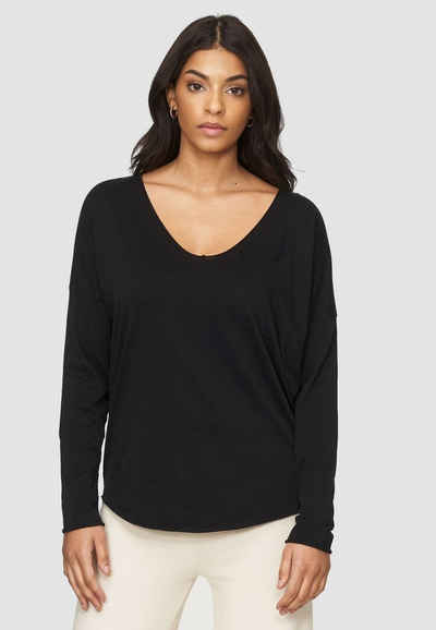 Cotton Candy Langarmshirt »NOELLE« in schlichtem Design