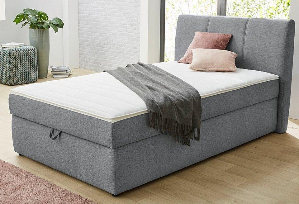 hti living boxspringbett sandra online kaufen otto. Black Bedroom Furniture Sets. Home Design Ideas