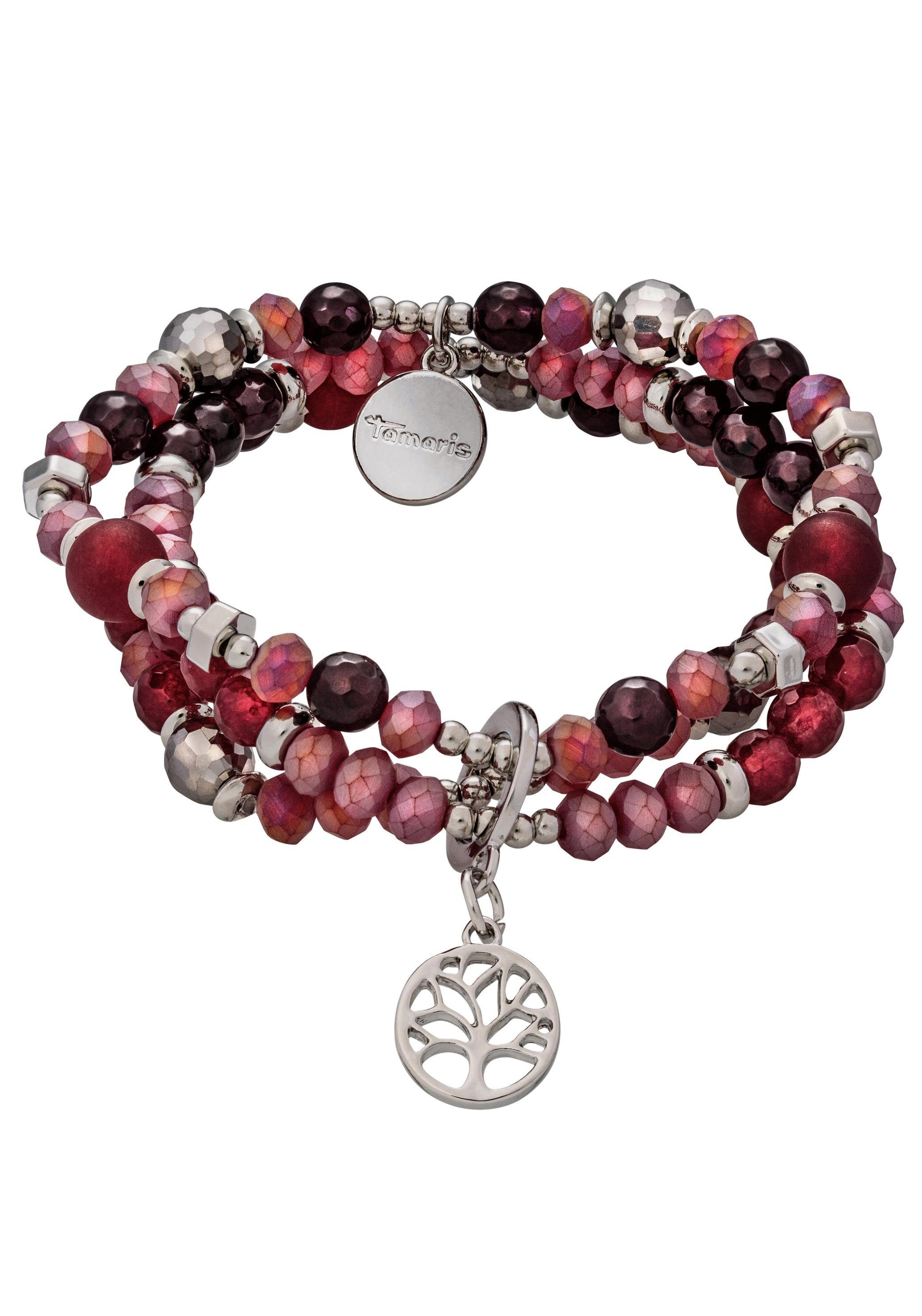 Tamaris Armband »Lebensbaum Jana, TF024« mit Glassteinen