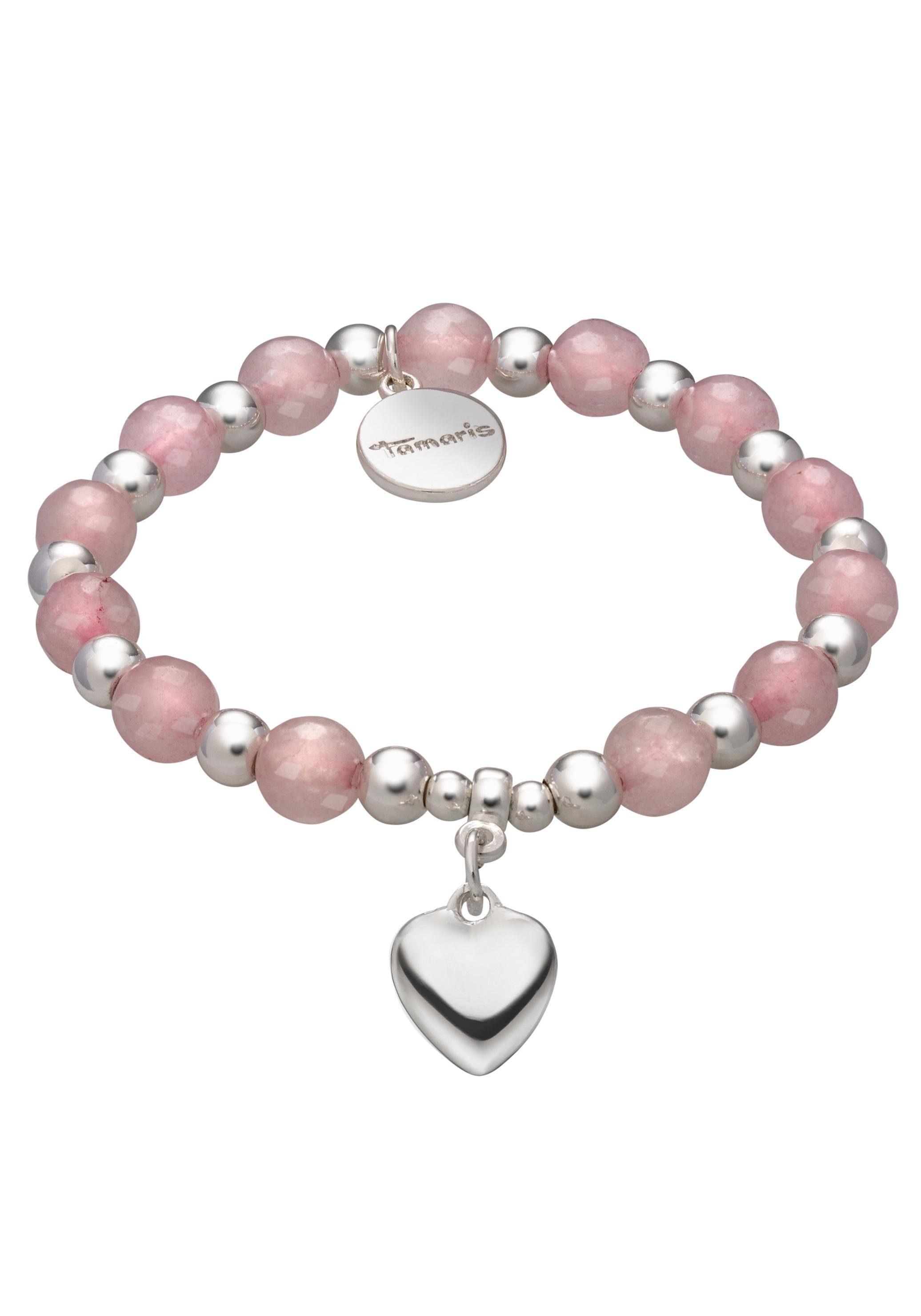 Tamaris Armband »Herz Kyra, TF026«, mit Glassteinen online kaufen | OTTO