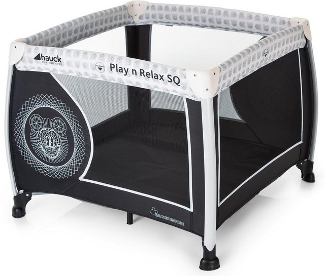Laufgitter - hauck FUN FOR KIDS Kippsicherer Laufstall, »Play'n Relax SQ, Mickey Cool Vibes«  - Onlineshop OTTO