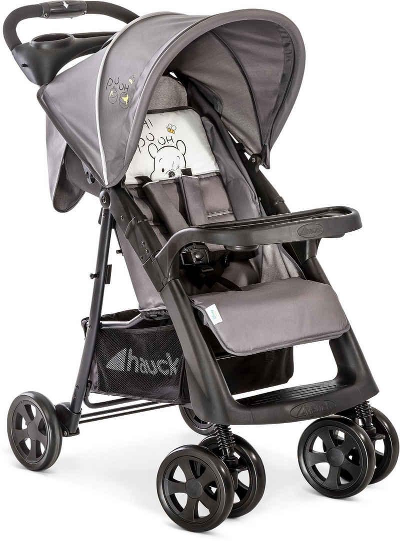 Hauck Kinder-Buggy »Shopper Neo II, Pooh Cuddles«, mit schwenk- und feststellbaren Vorderrädern; Kinderwagen, Buggy, Sportwagen, Sportbuggy, Kinderbuggy, Sport-Kinderwagen