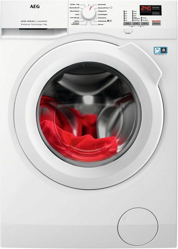 aeg waschmaschine l6fba674 7 kg 1600 u min otto. Black Bedroom Furniture Sets. Home Design Ideas