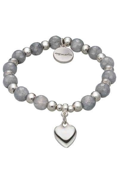 Tamaris Armband »Herz Kyra, TF025«, mit Glassteinen
