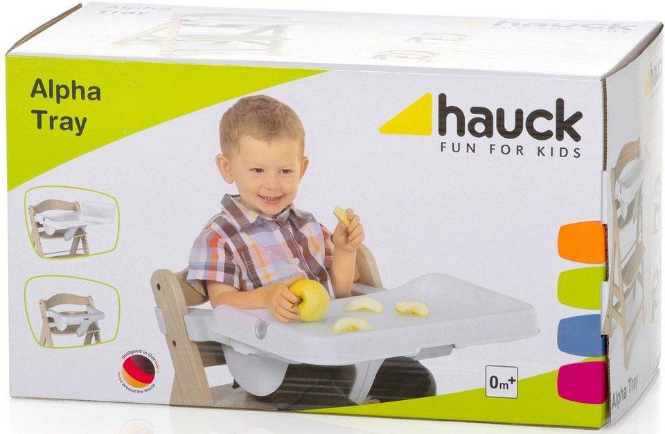 hauck fun for kids essbrett set f r hochstuhl alpha. Black Bedroom Furniture Sets. Home Design Ideas