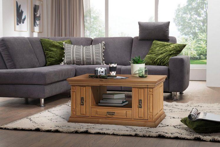 Home affaire Couchtisch »Vinales«, Breite 100 cm, mit 3 Schubladen