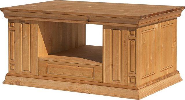 Wohnzimmertische - Home affaire Couchtisch »Vinales«, Breite 100 cm, mit 3 Schubladen  - Onlineshop OTTO