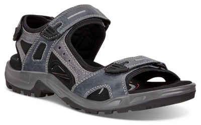cc95099eaa0817 Ecco »Offroad« Sandale mit 3 Klettverschlüssen