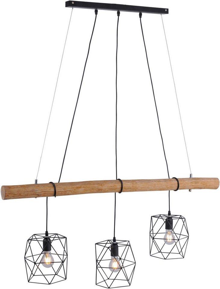 leuchten direkt pendelleuchte edgar 3 flammig otto. Black Bedroom Furniture Sets. Home Design Ideas