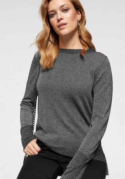Pullover in silber online kaufen   OTTO 16a0b538d7