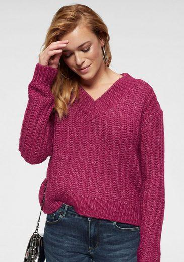 Vero Moda V-Ausschnitt-Pullover »VMBECCA«
