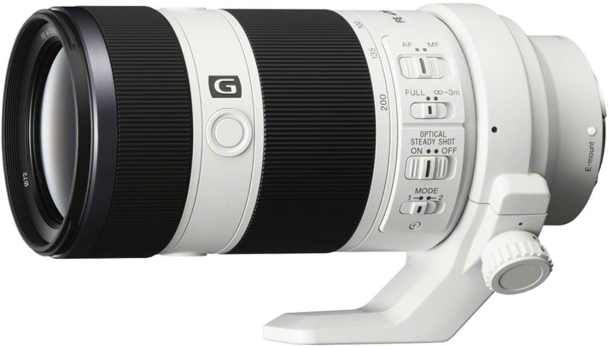 Objektive - Sony Objektiv »E Mount Objektiv 70 200 mm, F4.0, SEL70200G.AE«  - Onlineshop OTTO