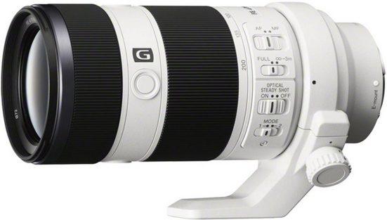 Sony Objektiv »E-Mount-Objektiv 70-200 mm, F4.0, SEL70200G.AE«