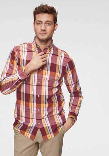 Gant Langarmhemd Button-down-Kragen