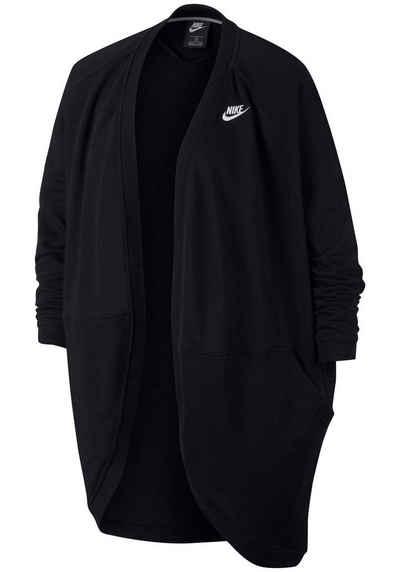 Nike Sportswear Sweatjacke »WOMEN NIKE SPORTSWEAR CLUB CARDIGAN FT PLUS  SIZE« Große Größen 318bdc1391