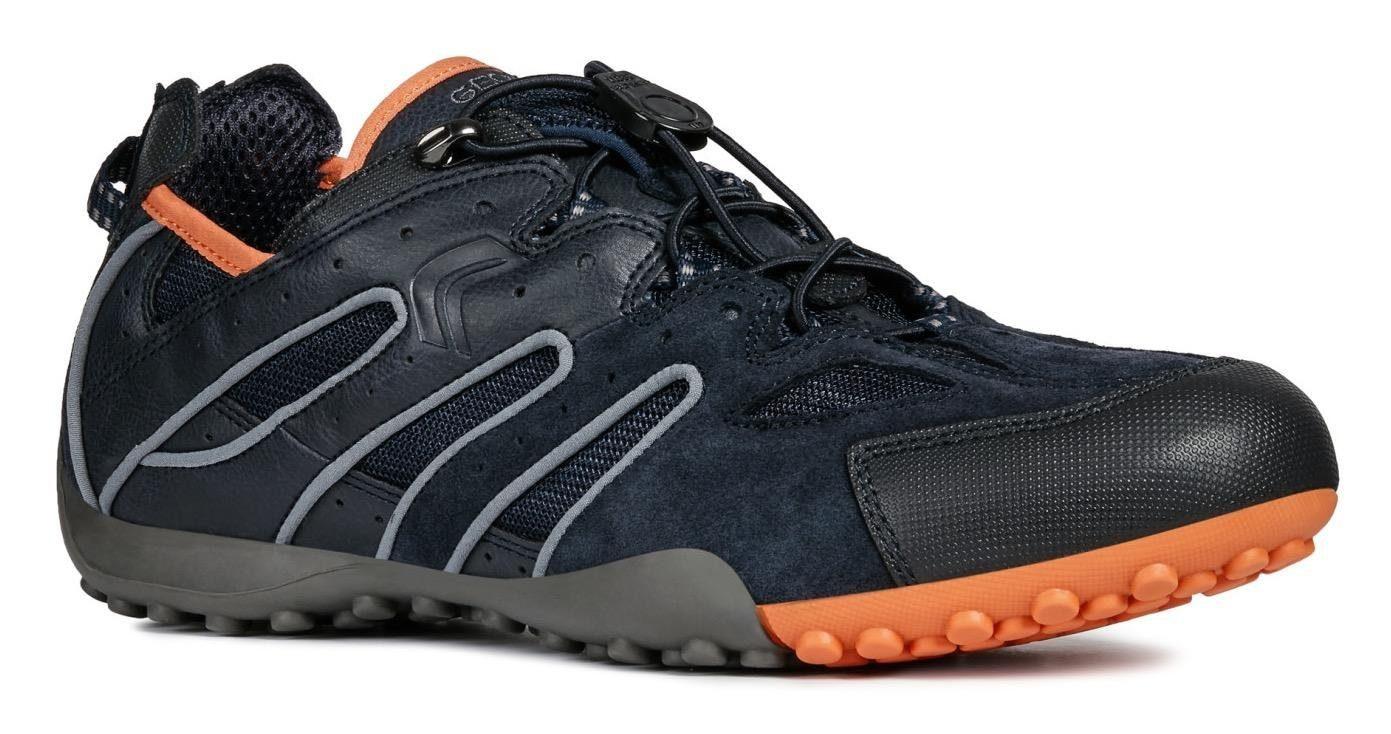 Geox RAVEX Schuhe sportliche Slipper für Herren in dunkel