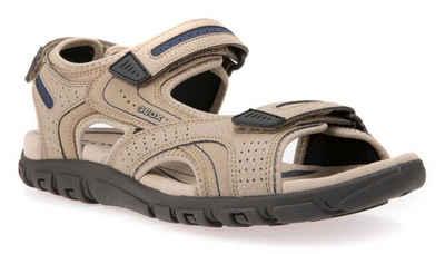 f198d91ddc4ac6 Geox »U Sandal Strada« Sandale mit gepolstertem Softfußbett aus Leder