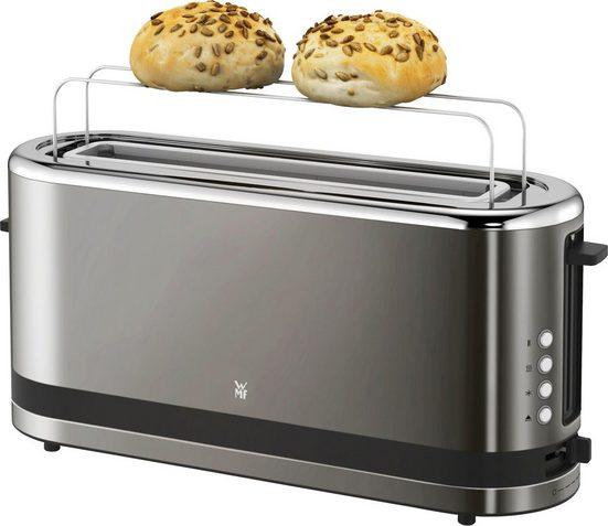 WMF Toaster KÜCHENminis® Graphit, 1 langer Schlitz, für 2 Scheiben, 900 W
