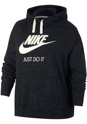 Größen Size« Nike Hoodie Gym Sportswear »women Hbr Plus Vintage Kapuzensweatshirt Große Hq8CHwv