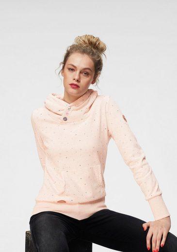 Sweatshirt alloverprint Luck« »chelsea Glücksbringer Mit Ragwear 8Oqw64q