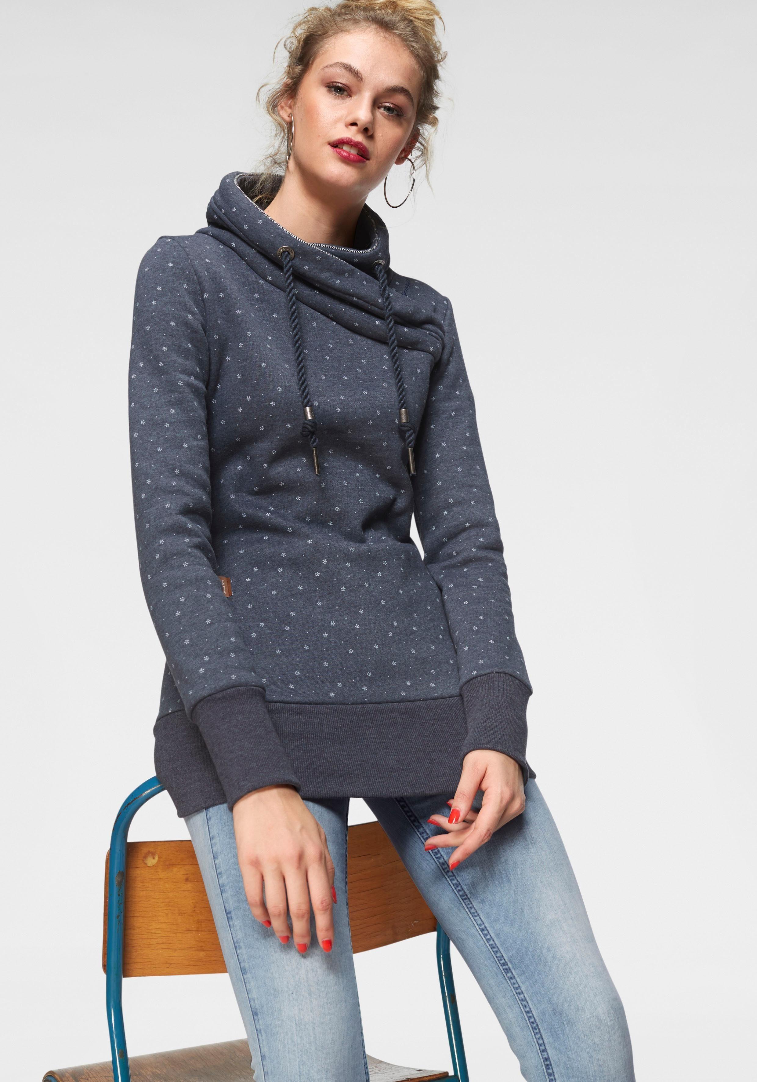 Ragwear Sweatshirt »NESKA DOTS« mit Pünktchen Alloverprint