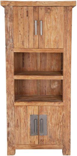 SIT Bücherregal »Coral«, aus recyceltem Altholz Teak