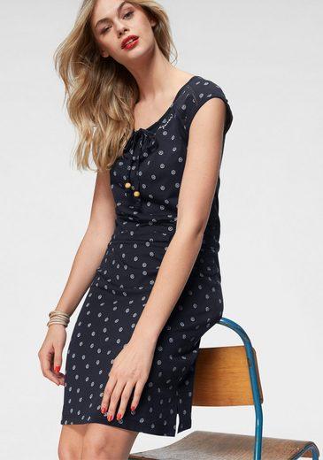 Mit Organic« »tetuan Alloverprint Ragwear Shirtkleid qEOn8xt6