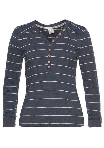 Langarmshirt Im Ragwear Look »pinch Maritimen Organic« UT4wT