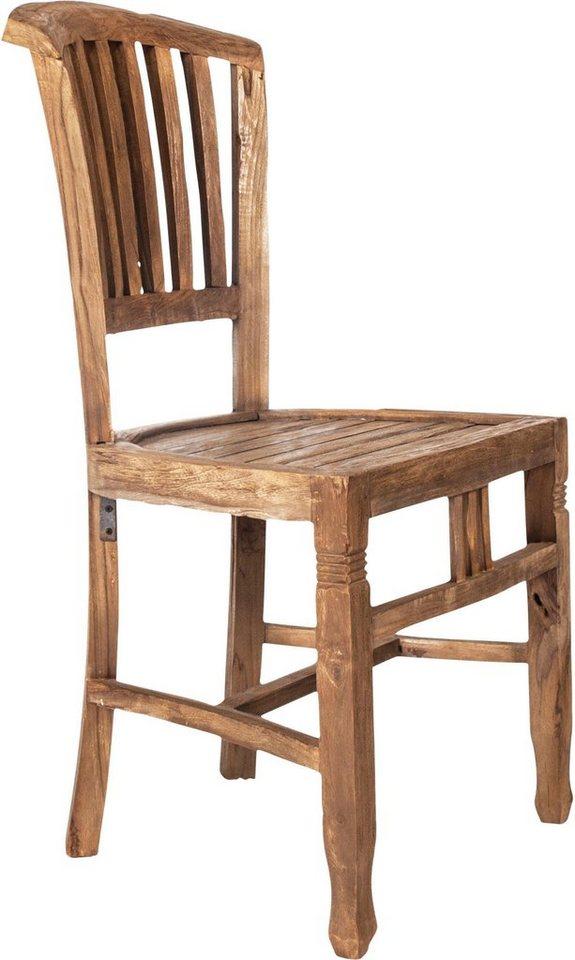 SIT Stuhl Coral Aus Recyceltem Altholz Sitzhöhe Ca 47