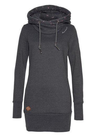 Ragwear Sweatshirt »LILAH« mit bedrucktem Kapuzenfutter