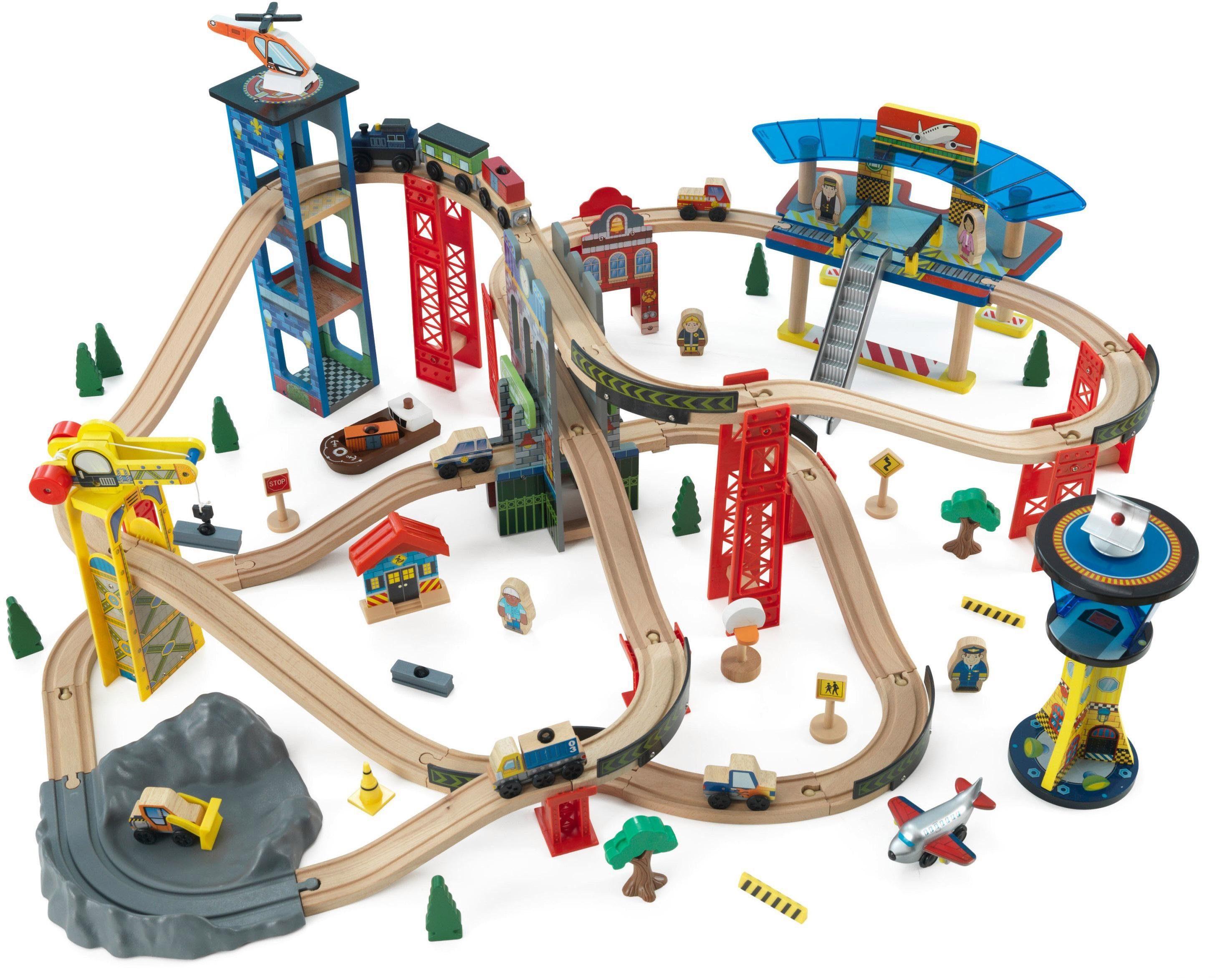 KidKraft® Großes Eisenbahnset, »Super Highway«