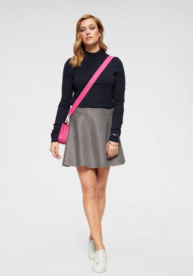 Vero Moda Stehkragenpullover »KARIS« | Bekleidung > Pullover > Stehkragenpullover | Blau | Vero Moda