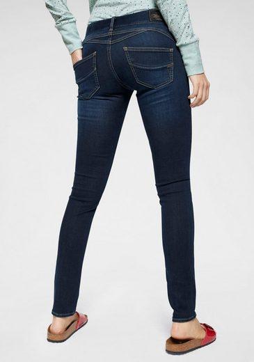 Herrlicher Slim-fit-Jeans »GILA SLIM« Low Waist Power-Stretch
