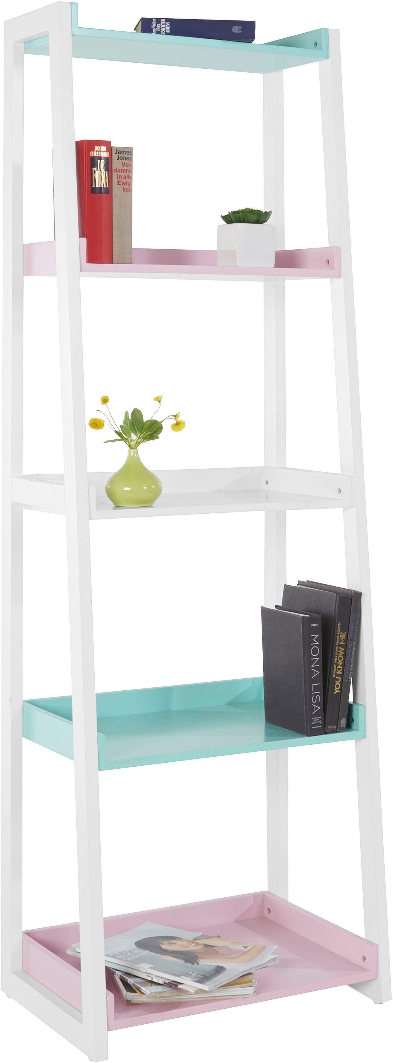 Home affaire Regal in Pastellfarben, Höhe 180 cm