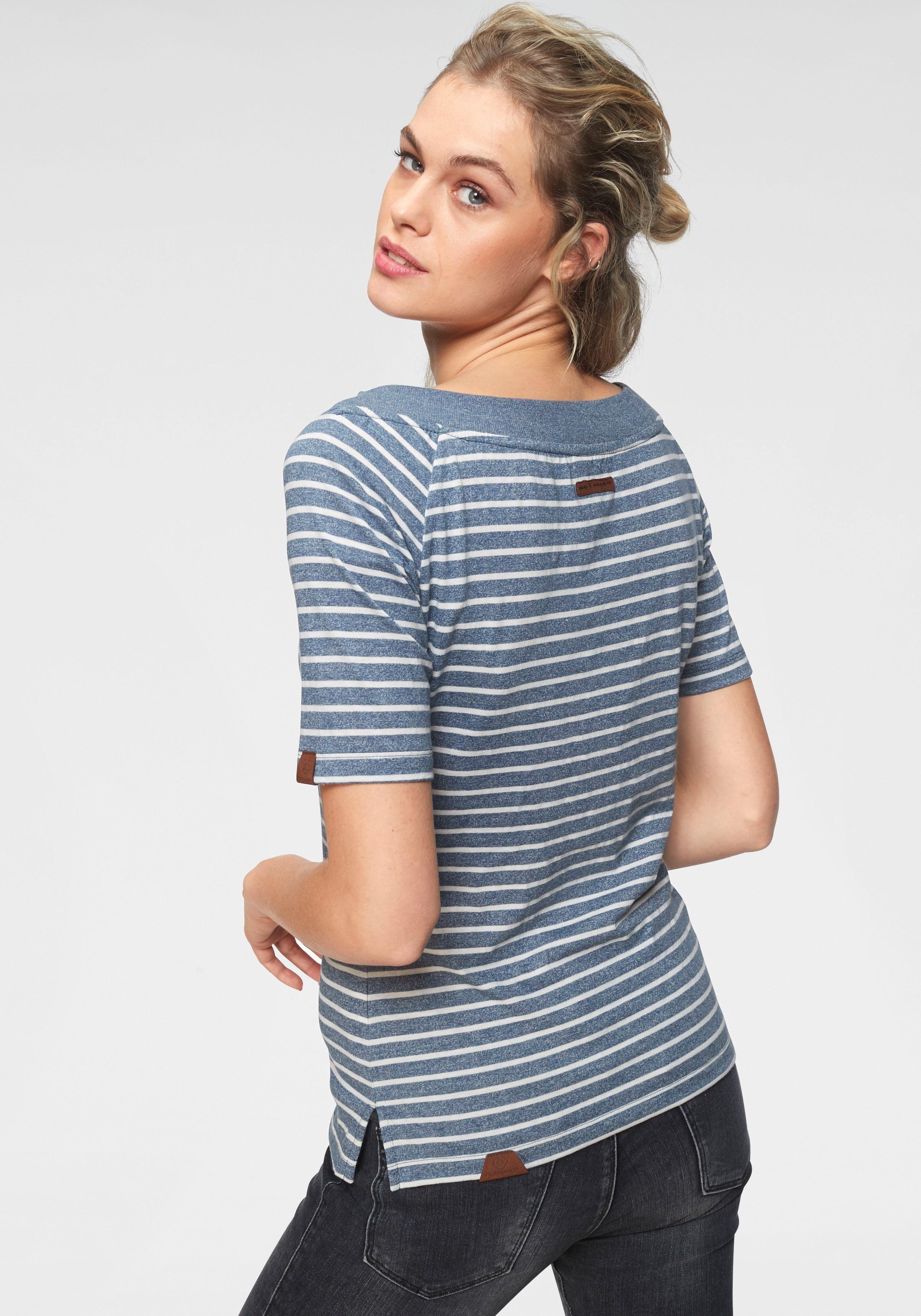 Im »seina« Kaufen Streifen shirt T Ragwear design LSzpVqMGU