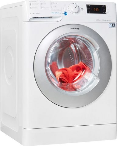 Privileg Waschmaschine PWF X 843 S, 1400 U/Min