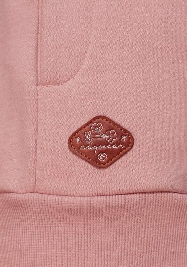 Ragwear Sweatshirt Kapuzenfutter »lilah« Bedrucktem Mit ff8rdBqW