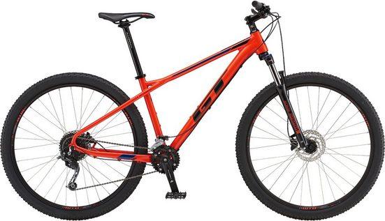 GT Mountainbike »Avalanche Comp RED 27,5 / 29 Zoll«, 27 Gang Shimano Alivio Schaltwerk, Kettenschaltung