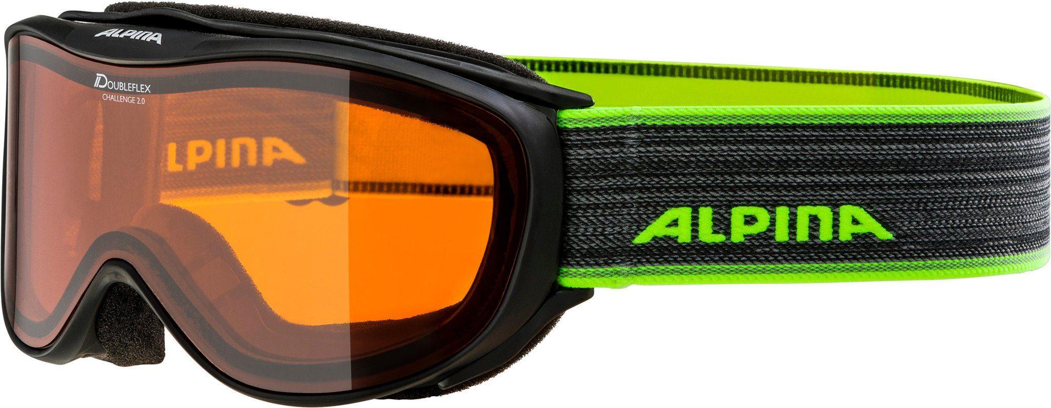 Alpina Sports Sportbrille »Challenge 2.0 Doubleflex S2 Goggle«