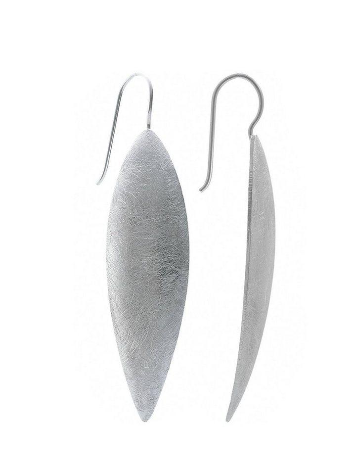 18c5712d80e96 Adelia´s Paar Ohrhänger »925 Sterling Silber Ohrringe - Ohrhänger« 925  Silber gebürstet