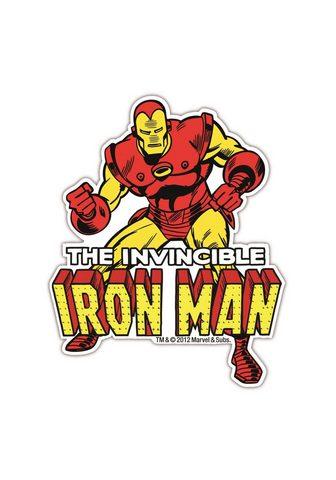 LOGOSHIRT Magnet su großem Dekoracija »Iron Man«...