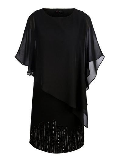 MIAMODA Kleid in raffinierter 2-in-1 Optik